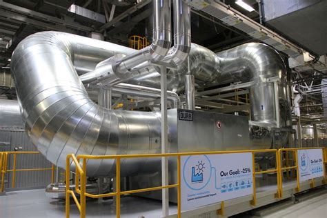 volkswagen pune volkswagen installs heat recovery system at pune plant to