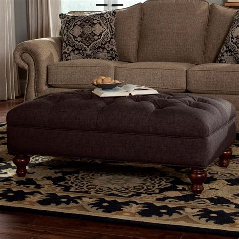 extra large black ottoman craftmaster accent ottomans extra large tufted ottoman