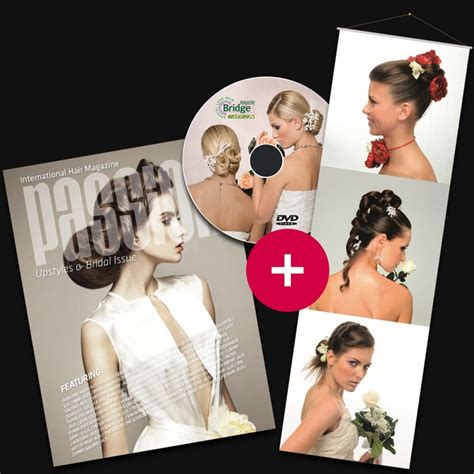 bridal hairstyles dvd pack passion upstyles bridal album dvd kak 233 mono