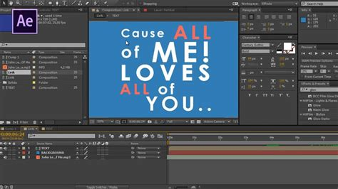 after effects tutorial typography motion graphics after effects tutorial basic typography motion