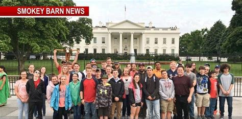 white house tn news heritage middle school students experience national capitol