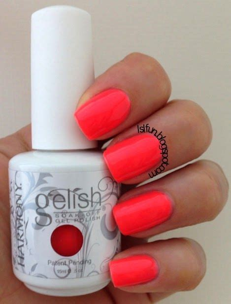 gelish colors gelish new summer collection colors of paradise swatches