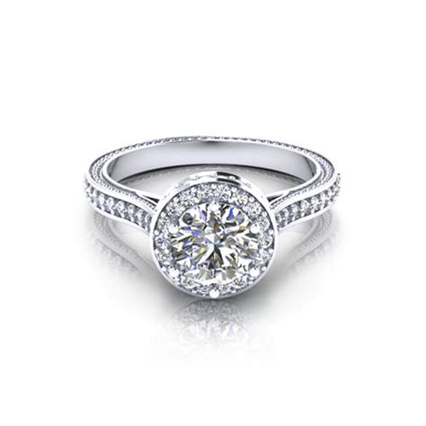 luxury engagement ring designers designer halo engagement ring jewelry designs