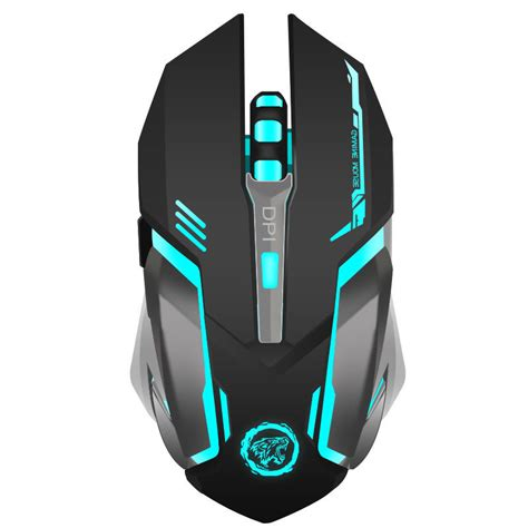 Mouse Gaming Gaming Mouse Azzor Wireless Rechargeable Usb 2400 Azzor D9 2 4ghz Wireless Rechargeable Silent Usb Optical