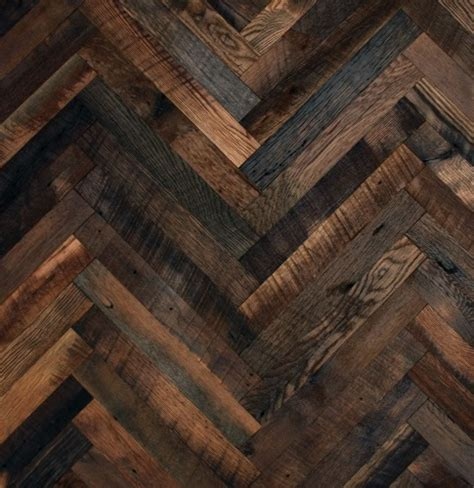 herringbone pattern wall wall or floor this is wonderful rustic industrial decor