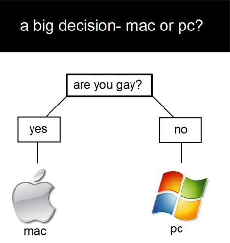 Windows Vs Mac Meme - mac vs pc really funny pictures collection on picshag com