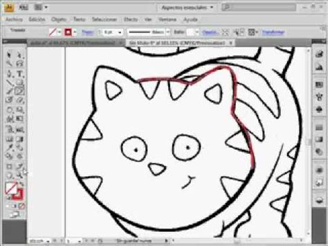 imagenes vectoriales para adobe illustrator videotutoriales es illustrator cs4 dibujar un gato youtube