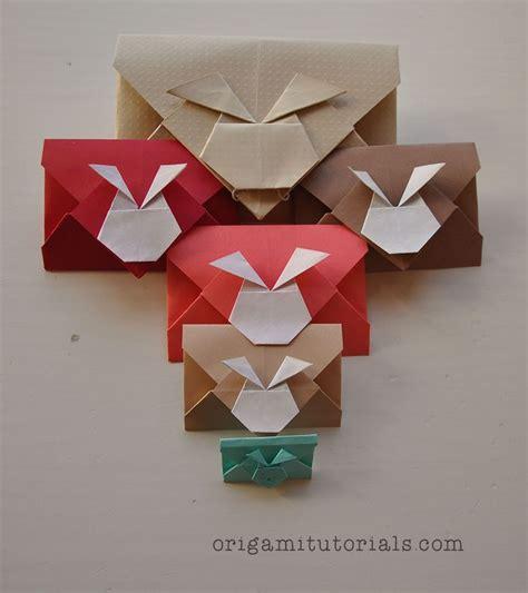 Origami Bunny Envelope - 1000 ideas about envelope tutorial on diy