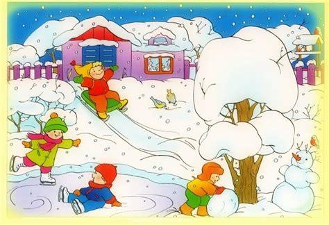 Imagenes Infantiles Invierno | infantiles dibujos del invierno im 225 genes de primavera