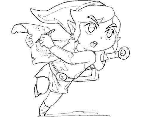coloring book link free coloring pages of the wind waker