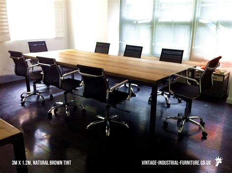 Industrial Boardroom Table with Vintage Industrial Boardroom Table