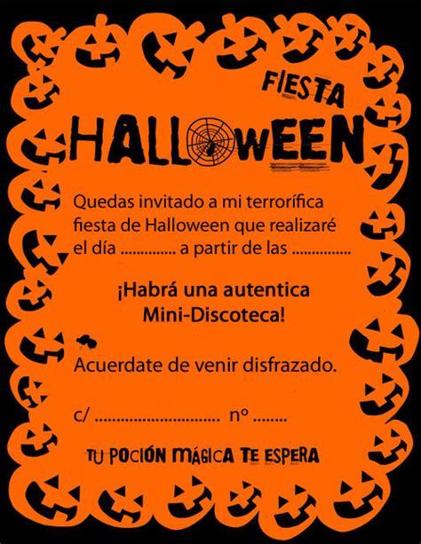 Imagenes De Halloween Invitaciones   invitaciones para fiesta de halloween halloween