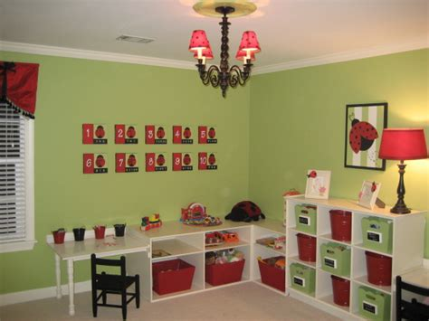 adorable playroom apple green cherry design dazzle