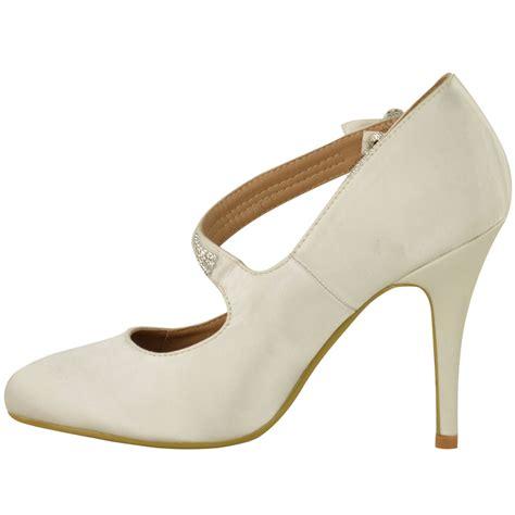 classic high heel shoes womens bridal wedding prom high heel classic