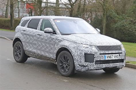 new land rover evoque new 2019 range rover evoque spy photos specs prices by