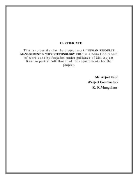 hr certification letter certificate request letter sle certificate