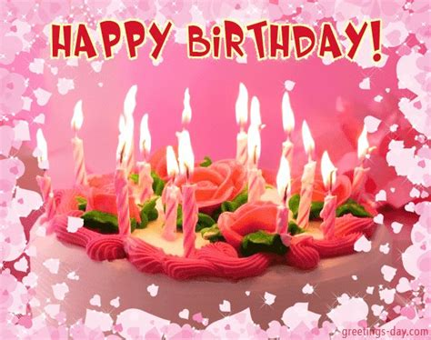 Animated Happy Birthday Wishes 4 U Animated Birthday Greeting Cards Www Imgkid Com The