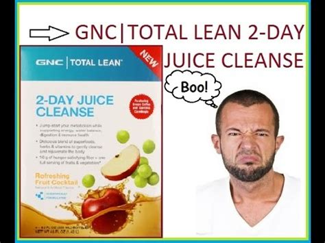 Gnc 2 Day Detox Review by Gnc Total Lean 2 Day Juice Cleanse Review How Much Weight