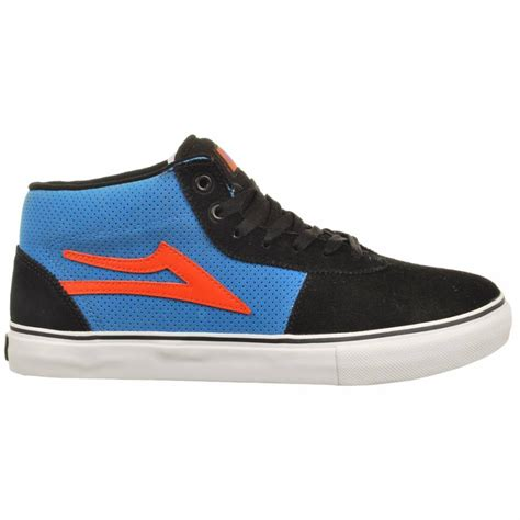 skater shoes lakai cairo select suede skate shoe black royal mens