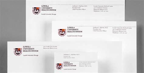 Loyola College Letterhead premium business cards chicago choice image card design