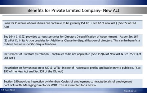 section 90 of the companies act new companies act 2013 impact on smu s