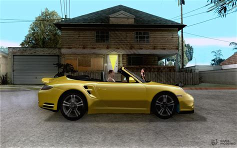 porsche inside view porsche 911 cabriolet 2010 for gta san andreas