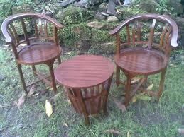 Kursi Teras Betawi 2 Tamu Makan Bangku Mangkok Anggur Yuyu Jati kursi teras set ukir dan minimalis harga murah indahjati