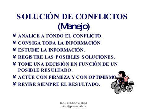 solucion de conflictos en nios solucion de conflictos en nios taller de convivencia y