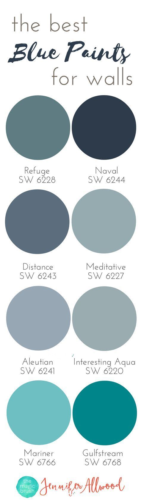 best 25 blue paint colors ideas on blue room paint wall paint colors and home
