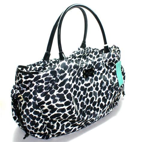 Kate Spade Stevie Animal Print Shoulder Bag by Kate Spade Stevie Baby Bag Lindenwood Leopard Bag