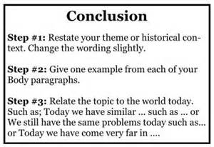 Exles Of Conclusions In Essays by How To Write A Conclusion Academichelp Net