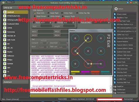 pattern lock read micromax d320 read pattern lock done with volcano tool v3