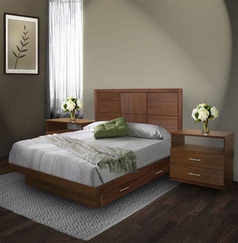 queen size bedroom set with storage rico queen size bedroom set w storage platform contempo