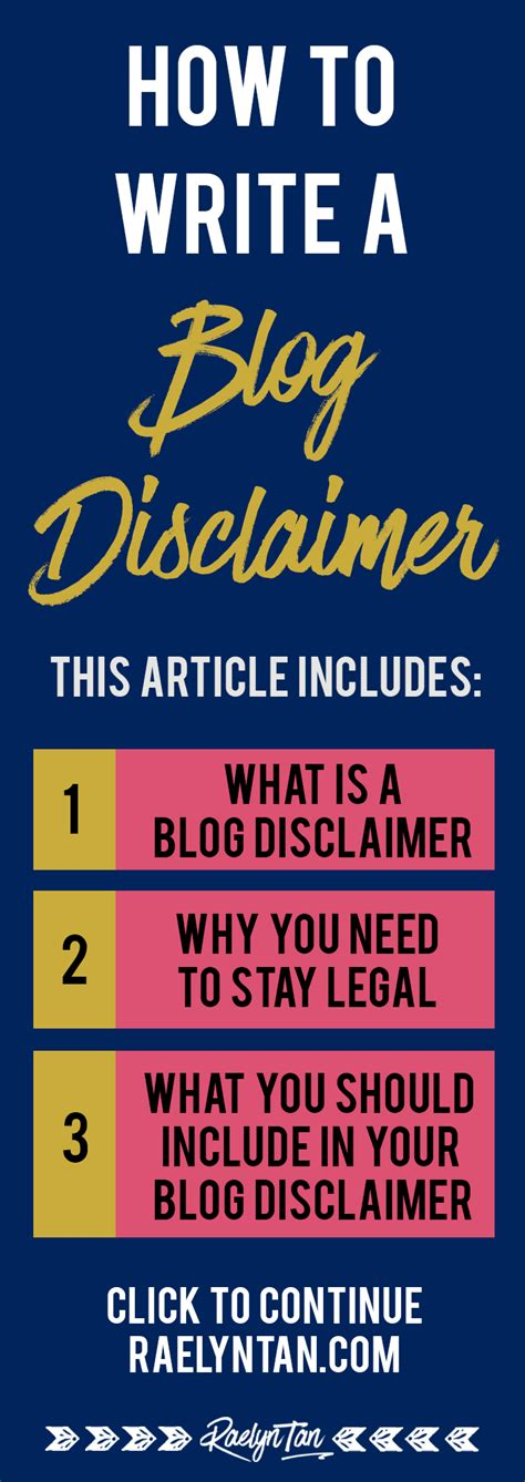 Fashion Disclaimer by How To Write A Disclaimer Stay Safe