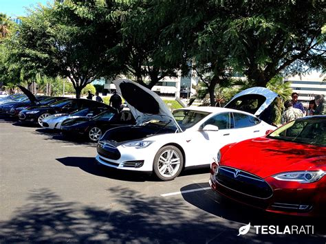 Tesla Owners Forum Tesla Owners Rally At National In Day 2013 Los Angeles