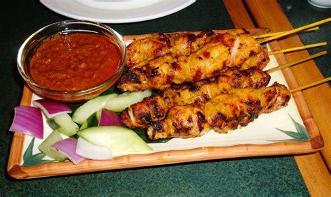 chicken satay recipe dishmaps
