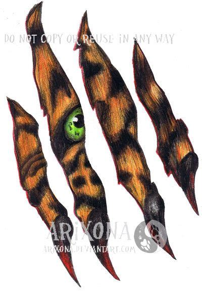 tiger scratch tattoo designs best 25 scratch ideas on rib