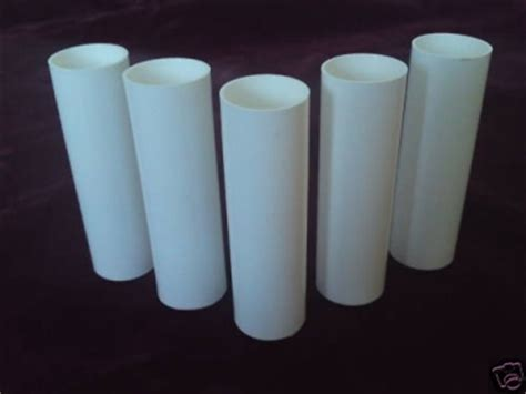 Chandelier Plastic Candle Covers Chandelier Candle Sleeves Covers Slips White Plastic 100mm X 24mm