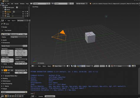 python console python for architects part 2 blender yorik s guestblog