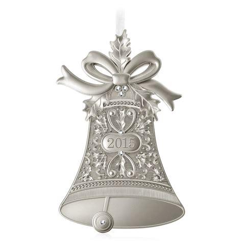 ornament on hallmark 2015 bells hallmark keepsake ornament hooked