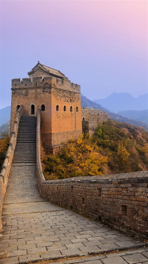 wallpaper for walls china great wall of china sunrise wallpapers hd wallpapers