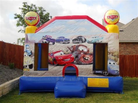 cars bounce house cars moonwalk bounce house rentals austin san antonio texas
