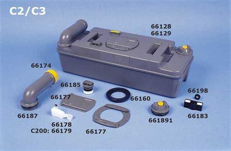 cassetta thetford flotteur de niveau pour cassette c200