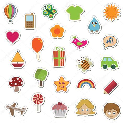 Aufkleber Kinder by Stickers Stock Vector 169 Mattasbestos 2076277