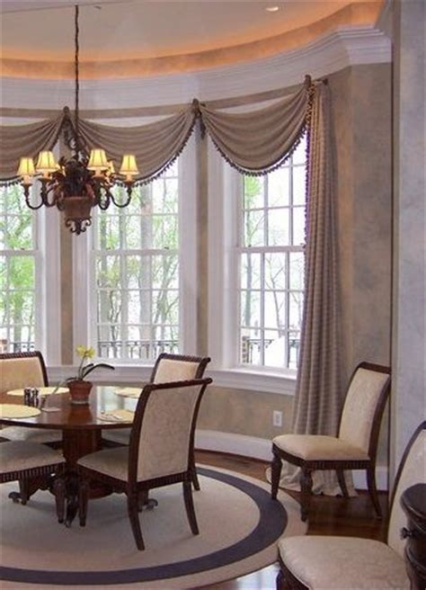 what is a window treatment 17 best ideas about bay window curtains on bay