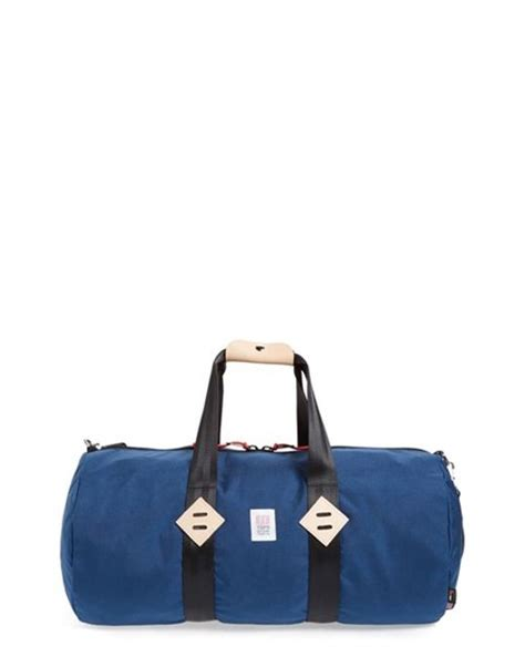 Classic Bags From Bown Designs by Topo Designs Classic Duffel Bag In Blue For Lyst