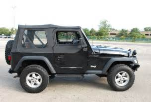 2000 Jeep Wrangler 2000 Jeep Wrangler 5 Speed Black Clean