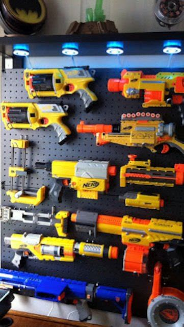 How To Build A Nerf Gun Rack by This Nerf Gun Display Is Both Awesome And Easy To