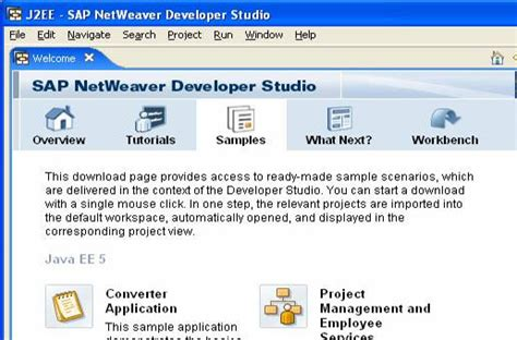 tutorial sap netweaver sap netweaver developer studio 7 5 installation and