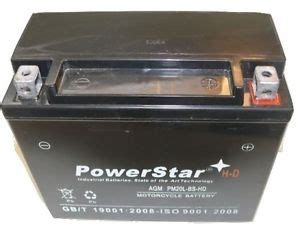Harley Davidson Battery Warranty by H D Powerstar Faytx20l Battery For Harley Davidson 65989